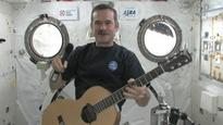 Chris Hadfield performs space music in Vancouver