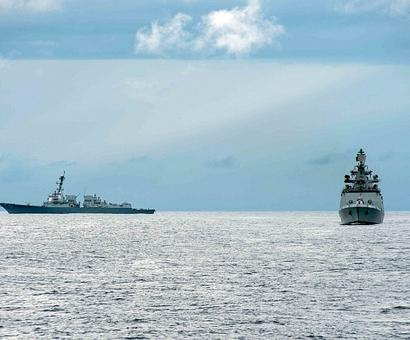 Malabar war games are a counterpunch to China