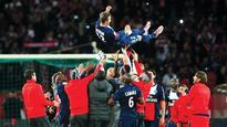 Emotional swansong for Beckham