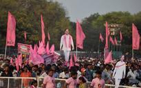 Hyderabad civic polls: TRS wins record 99 seats