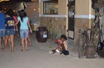 Boracay street beggars back