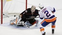 Leddy ends 14-round shootout, Islanders beat Ducks