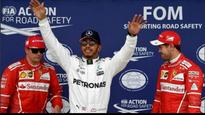 British Grand Prix : Lewis Hamilton takes pole position, one away from Schumacher's record