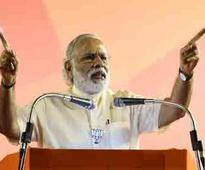 Congress looted country, no charge of corruption against NDA government: Modi