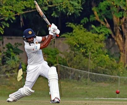 PHOTOS: Sri Lankan batsmen make merry on Day 1 of warm-up
