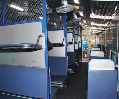 Modern 'Deen Dayalu' coaches to make travel comfortable