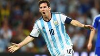 Messi proud to equal Batistuta's record