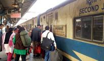 Low intensity explosive found in train