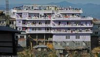 The world's biggest family in India's Mizoram with 181 members is difficult to fit into one frame