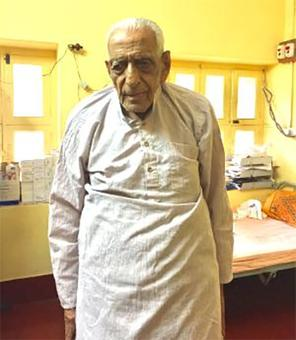 99 yr old freedom fighter: 'Jail was like university for me'