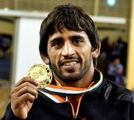 Bajrang wins gold at Asian Wrestling Championship