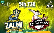 PSL T20 2016: Peshawar Zalmi Beat Lahore Qalandars by 9 Wickets