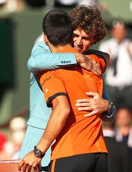 Former Roland Garros king Guga on new French Open champ Djokovic