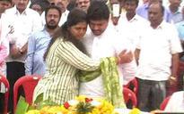 Maharashtra BJP leader Pankaja Munde consoles bereaved cousin Dhananjay