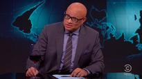 Larry Wilmore Toasts 'Nightly Show' With Samantha Bee-Gifted Wine