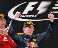 Verstappen gives F1 stars a run for the money
