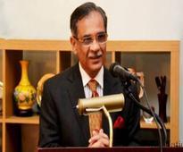 Justice Saqib takes oath as acting CJP