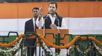 PM Modi instilling fear, wrecking economy: Rahul Gandhi at Congress convention