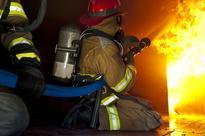 Firefighters Practice Disaster Scenarios