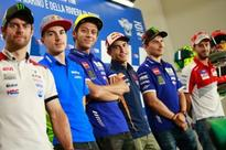 Misano MotoGP: Simoncelli #58 Retired, Rossi Ready for Home Race