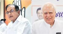 Kabil Sibal, P Chidambaram in Congress Rajya Sabha list