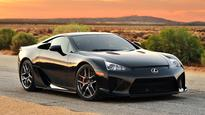 If Youve Always Wanted a Lexus LFA, Now May Be the Time