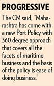 Maha attracts investments across maritime sector