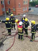 Exeter shop still too unstable to investigate after fire