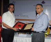 Equitas CEO P N Vasudevan gets Rotary Club's vocational excellence award