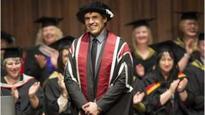 Coleman awarded honorary degree