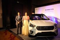 Hyundai Creta Anniversary Edition 1st unit presented to badminton star Saina Nehwal