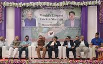 India starts building world's biggest stadium