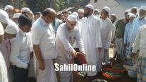 Kumta: Foundation stone laying ceremony for Kimani Jamia masjid held