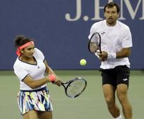 Sania-Ivan crash out of US Open mixed doubles