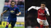 Arsenal's Alexis Sanchez and Man Utd's Henrikh Mkhitaryan set for medicals ahead of swap deal