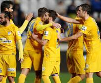 Rampant Apoel move to top of table, Apollon win Limassol derby