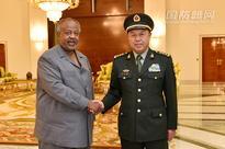 CMC vice chairman visits Djibouti