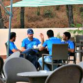 IPL PICS: Mumbai Indians in Dharamsala