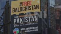 'Free Balochistan' billboards go up on Times Square in New York