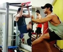 Watch: Sushant Singh Rajput trains hard for Raabta