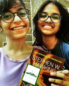 Hooray! The book fairies have landed in India