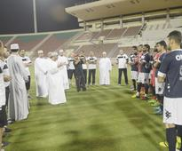 OFA CHAIRMAN MEETS PLAYERS, COACH