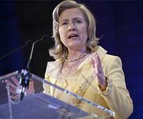 Hillary Clinton invokes women's rights, promises 50 percent women in Cabinet