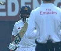 DRS 'cheatgate' controversy erupts in Kolkata test over Perera's call