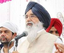 Badal cautions people of Punjab against AAP and Congress