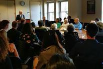 Nalbandian delivers speech in Stanford University -
