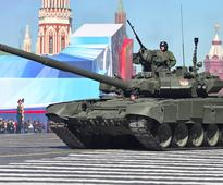 The British army has admitted it is no match for Russia