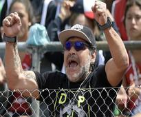 Diego Maradona will play against Sourav Ganguly in Kolkata