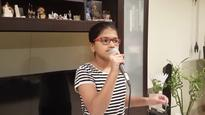 12-Year-Old Girl Sets Two New World Records for Singing in 102 Different Languages in 6-Hour Long Concert