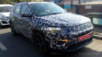 Spied: Jeep Compass spotted testing in India